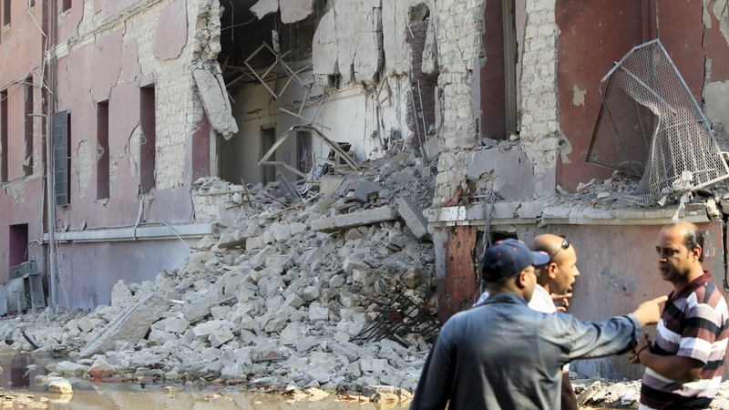 IS claims Cairo consulate attack
