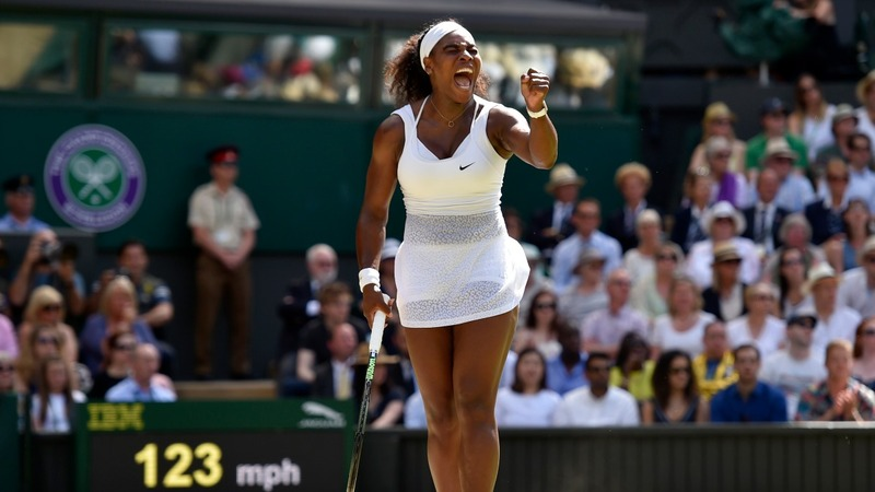 Serena swings her way closer to history