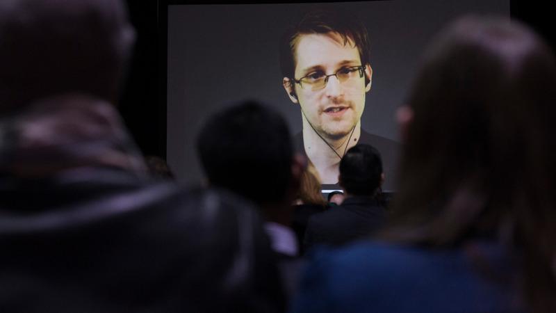 Snowden film director sues U.S. govt