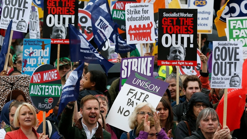 Unions decry tougher strike laws