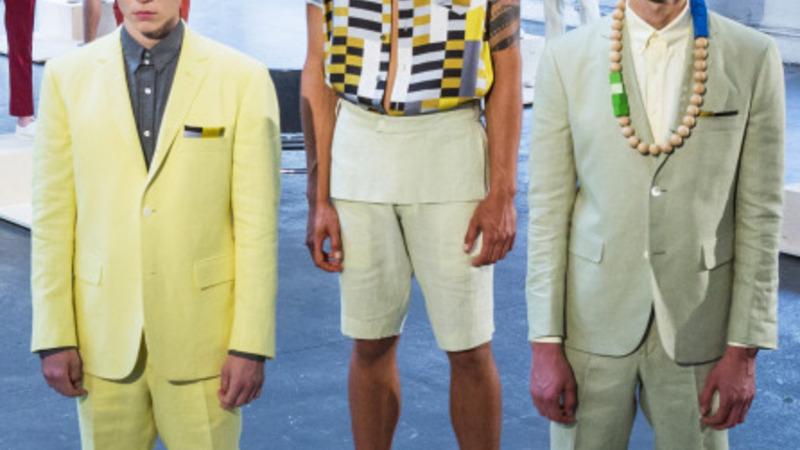 Trends at New York's first men's fashion week