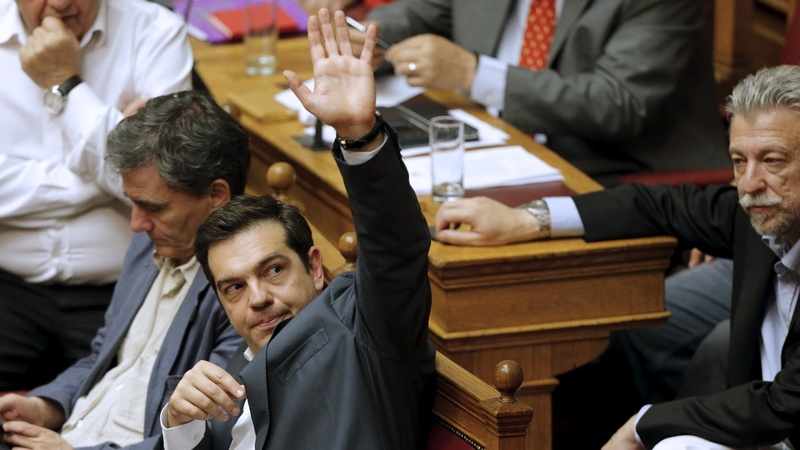 Greek lawmakers say 'yes' to bailout terms