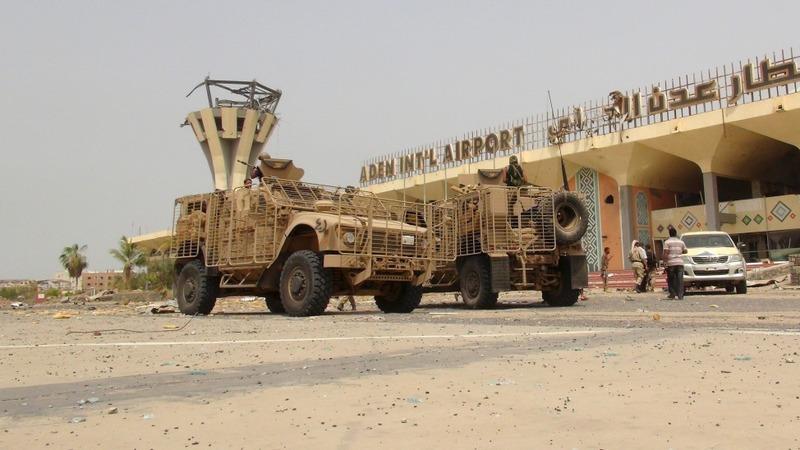 Exiled govt ministers return to Yemen's Aden
