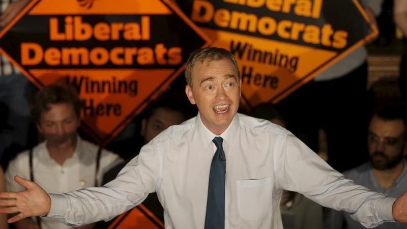 Lib Dems choose Farron as new leader