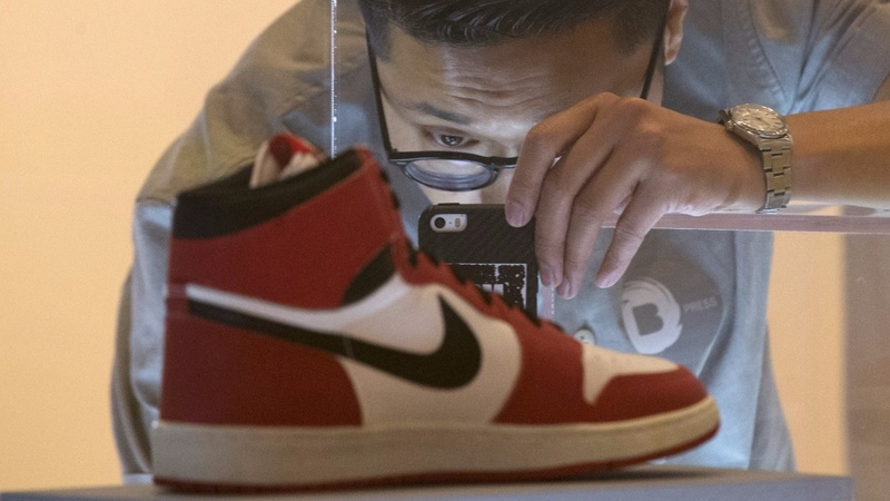 Sneaker exhibit shows off fresh kicks