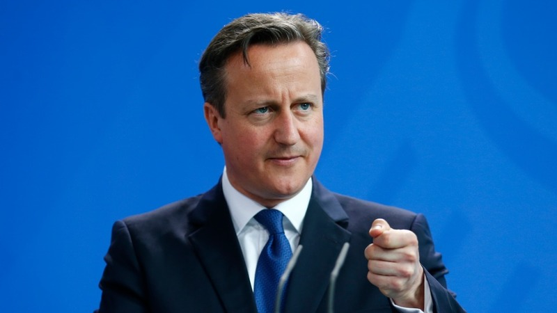 Cameron pledges UK to help destory IS