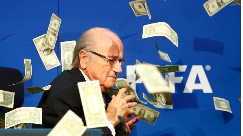 VERBATIM: Comedian hijacks FIFA meeting