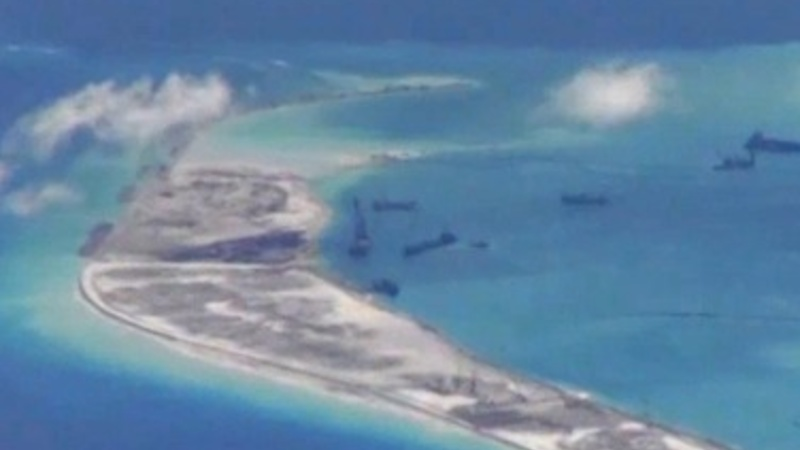 U.S. flight sparks new South China Sea tension