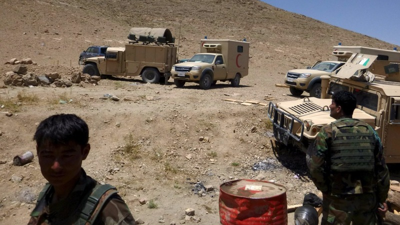NATO fire kills at least 8 Afghan soldiers