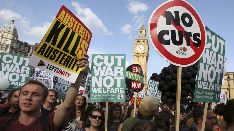 Labour rebellion over welfare cuts