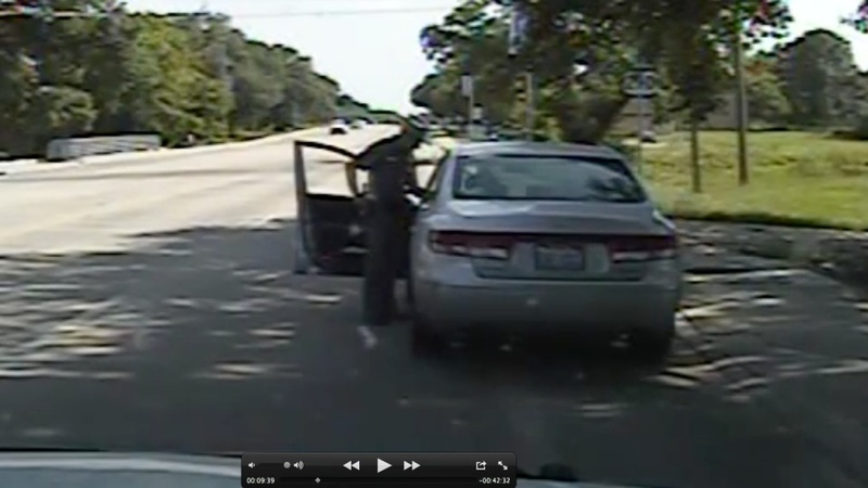 Dash cam video captures Sandra Bland arrest