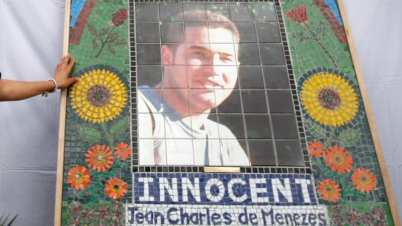 Marking ten years since De Menezes death