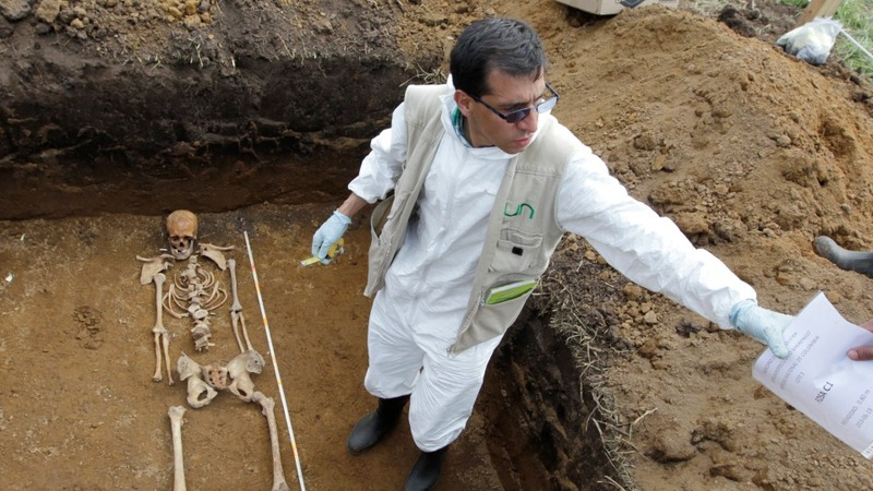 Unidentified bodies languish in Colombia