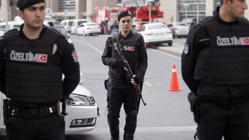 Turkey hits back with warplanes, police raids