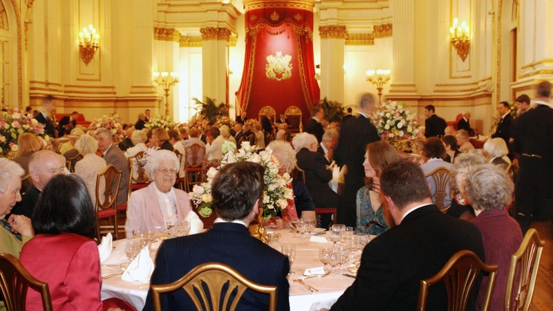 Discover the Buckingham Palace banquets