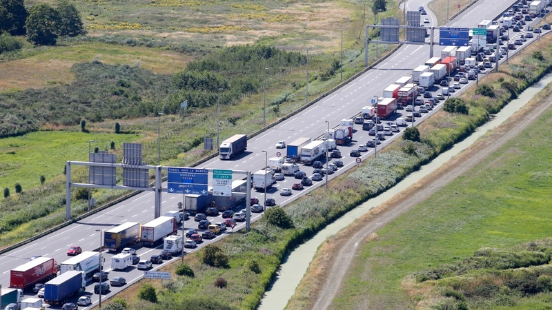 Holiday getaway marred by UK crossing chaos