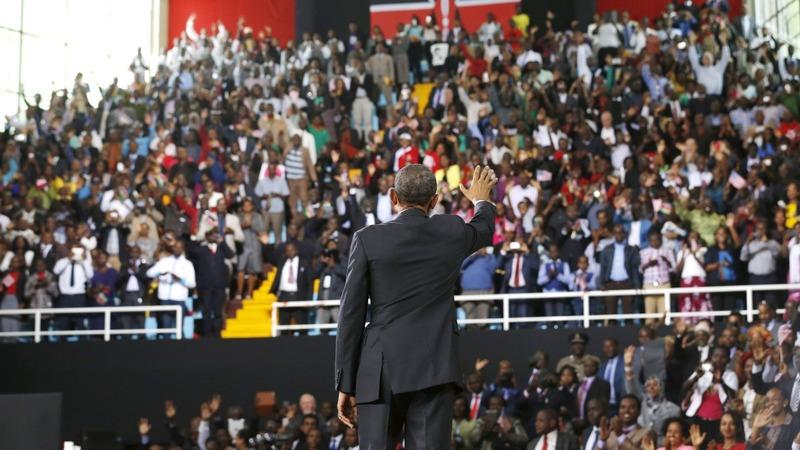 Kenya jubilant after visit of son Obama