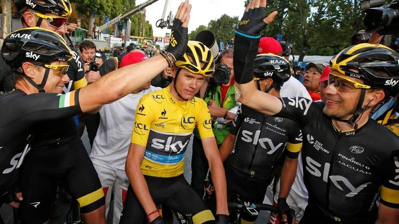 Froome wins second Tour de France