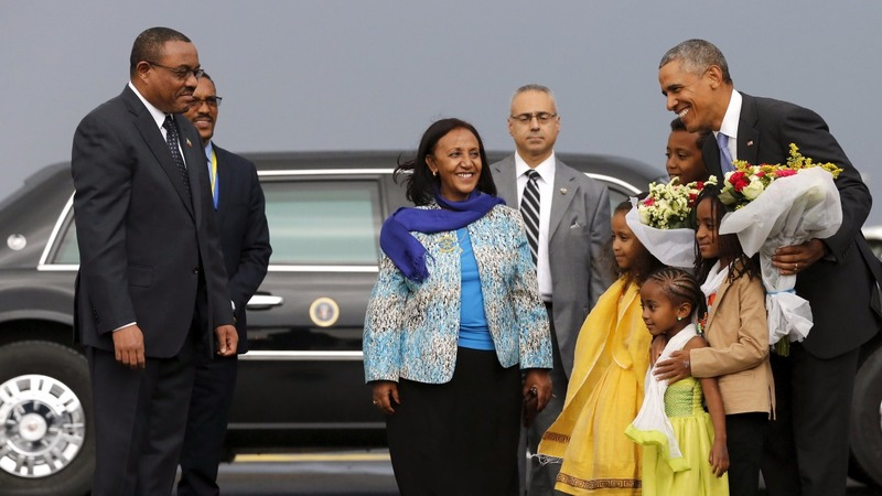 Obama in Ethiopia to boost security ties