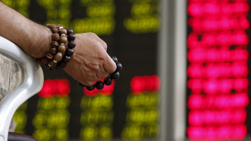 China's latest stock market drop is a big one