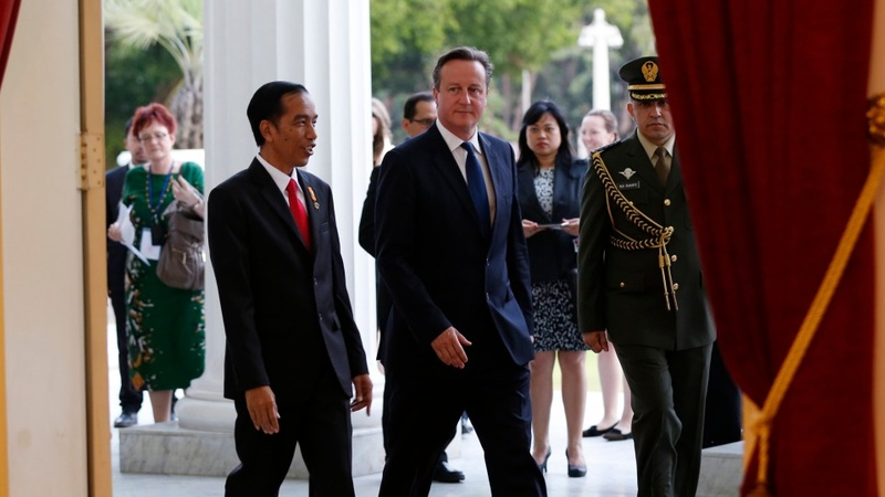 Cameron to talk trade and terrorism in Asia