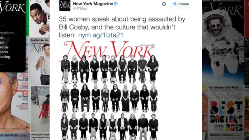 NY Mag's Cosby cover back after hack