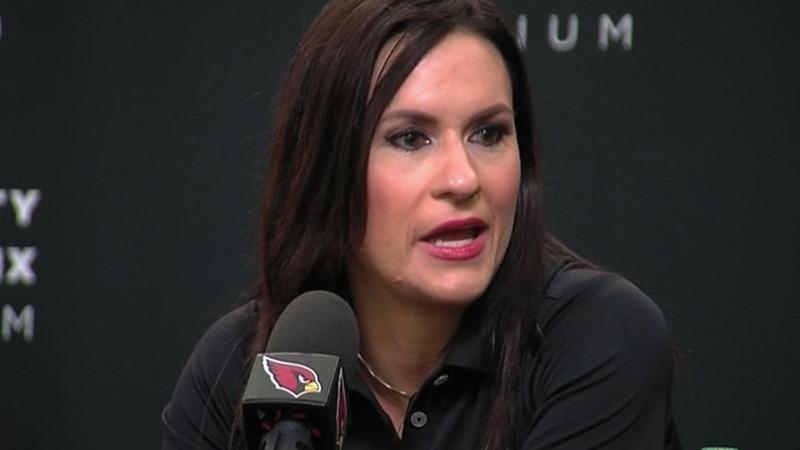 VERBATIM: Welter named first female NFL coach