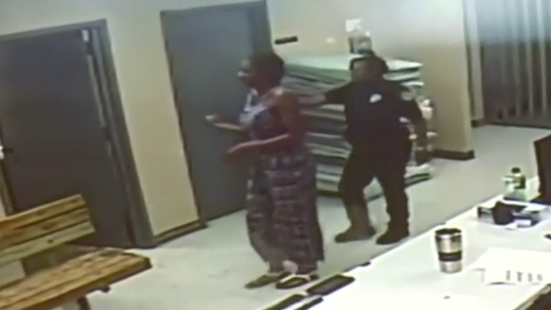 New video shows Sandra Bland alive at booking