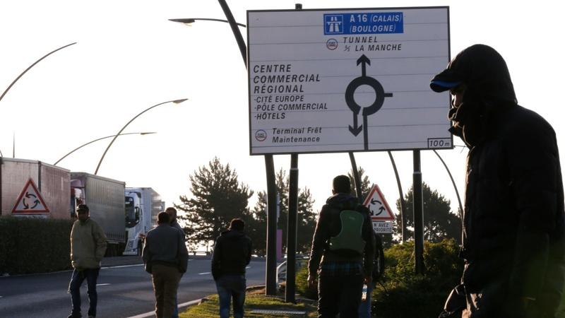 Migrant dies in Calais border surge