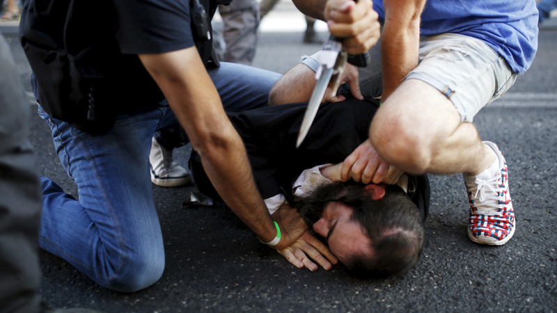 Six stabbed in Jerusalem pride parade