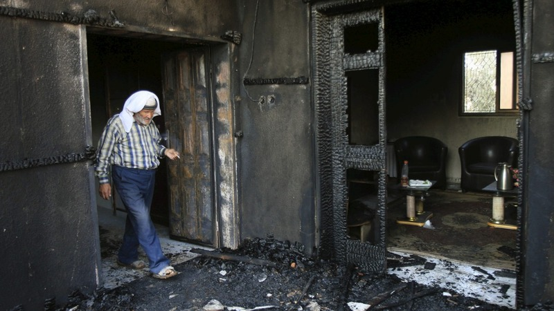 Palestinian toddler killed in firebomb attack