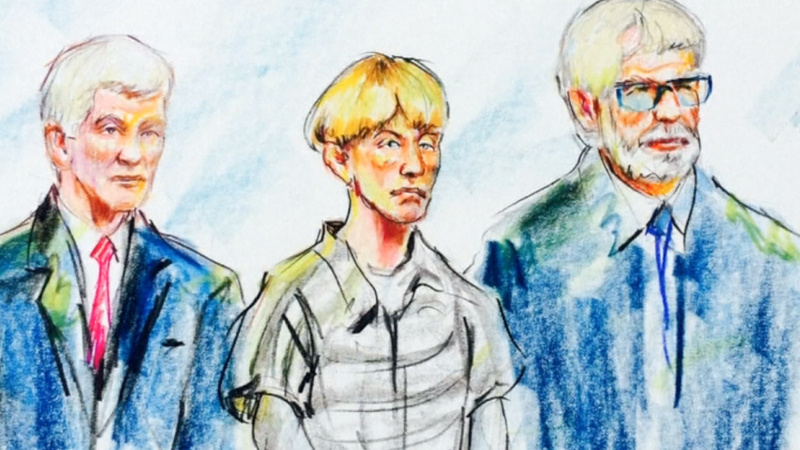 Not guilty plea entered for Dylann Roof