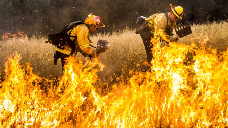 Wildfires spark California state of emergency