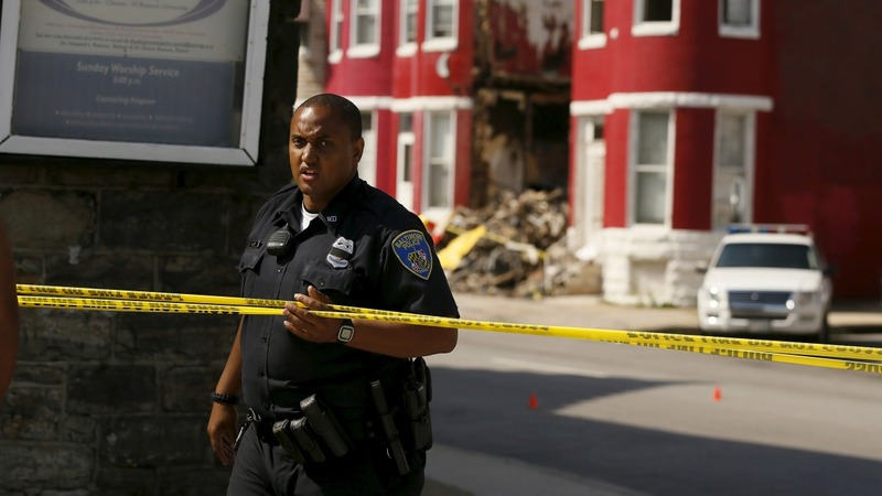 Baltimore murder rate hits 43-year high