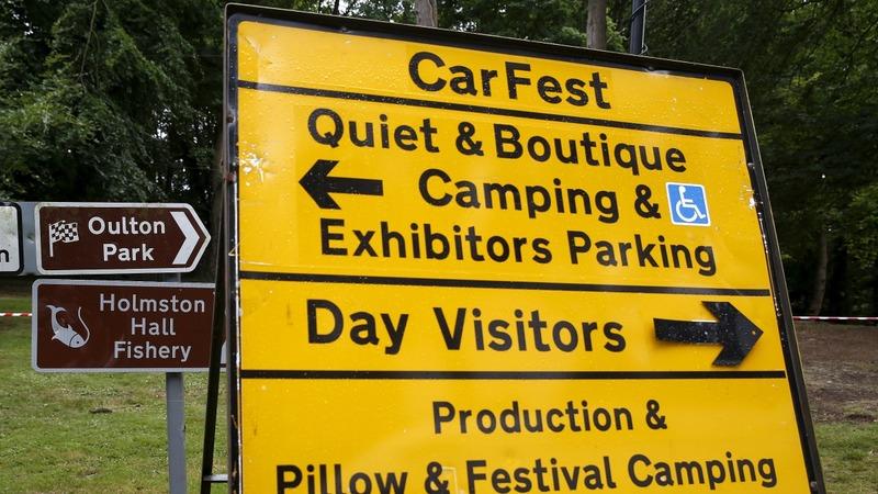 CarFest resumes after fatal jet crash