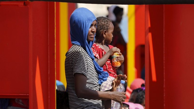 Italy rescues 1,800 sea migrants, five dead