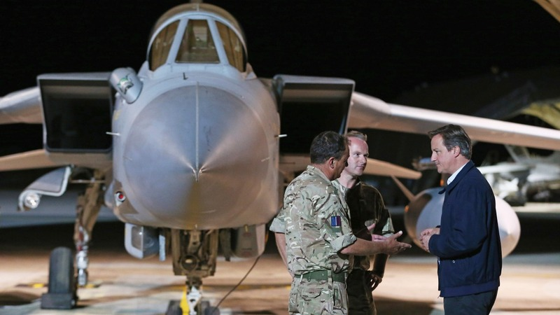 UK to extend IS air strikes