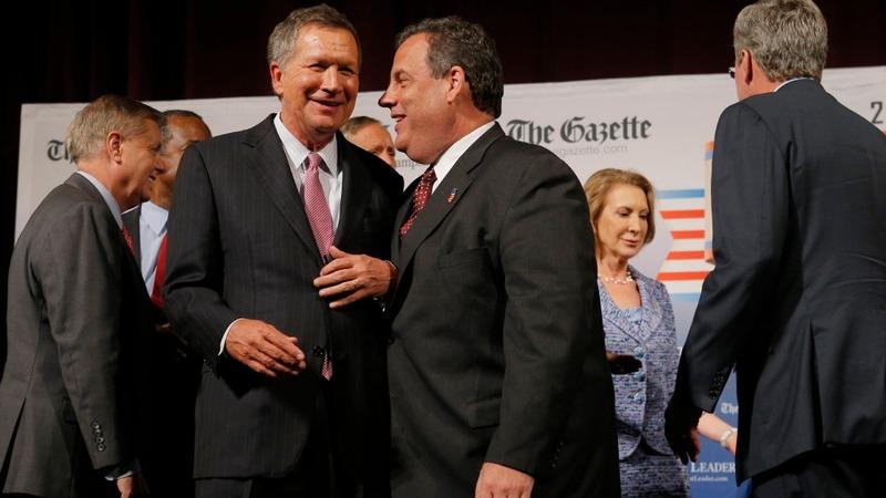 Kasich, Christie clinch tickets to Cleveland