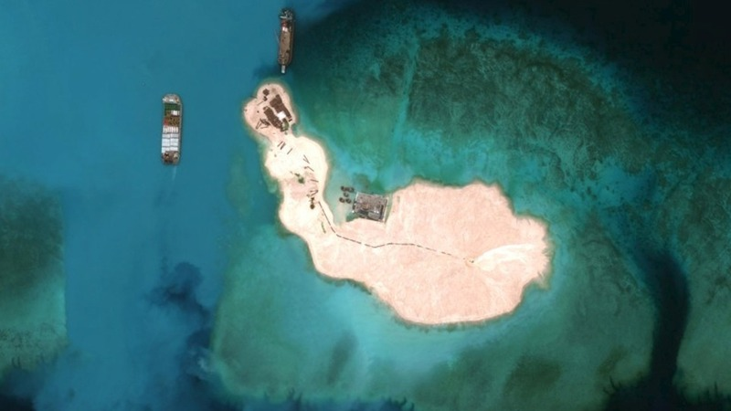 China: We've stopped building man-made islands