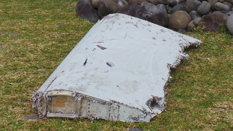 Plane debris confirmed as part of Flight MH370
