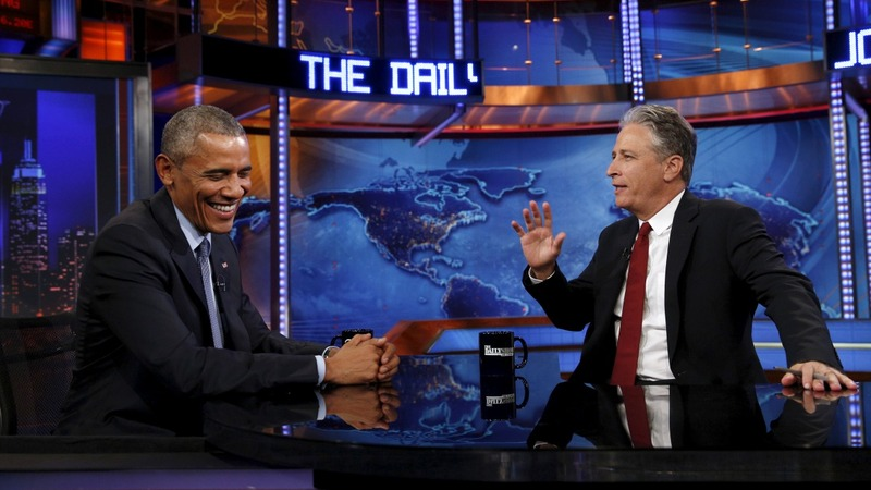 Leaving the 'Daily Show,' and a political legacy