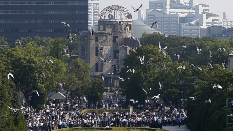 Japan weighs war stance 70 years after Hiroshima