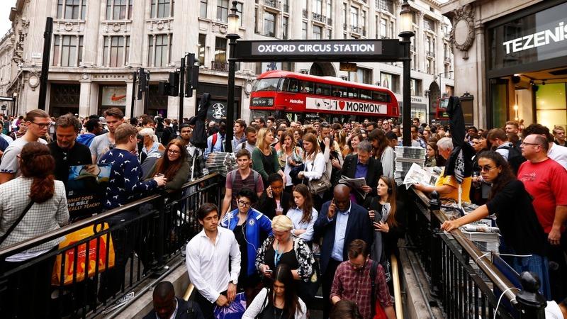 Tube strike takes hold in London