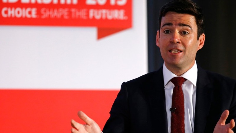 Burnham Labour manifesto flirts with left