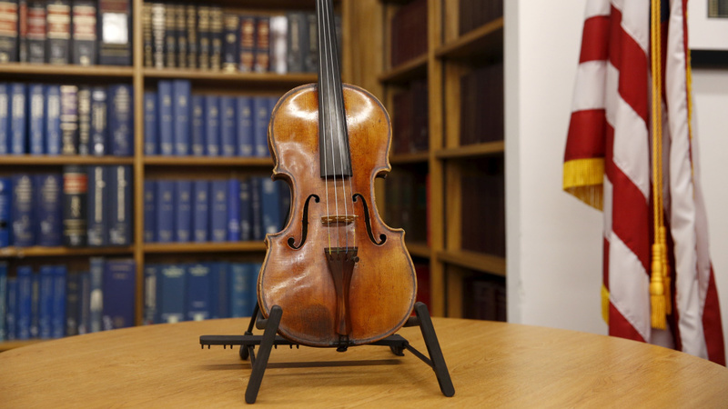 VERBATIM: Stolen Stradivarius returns after 35 years