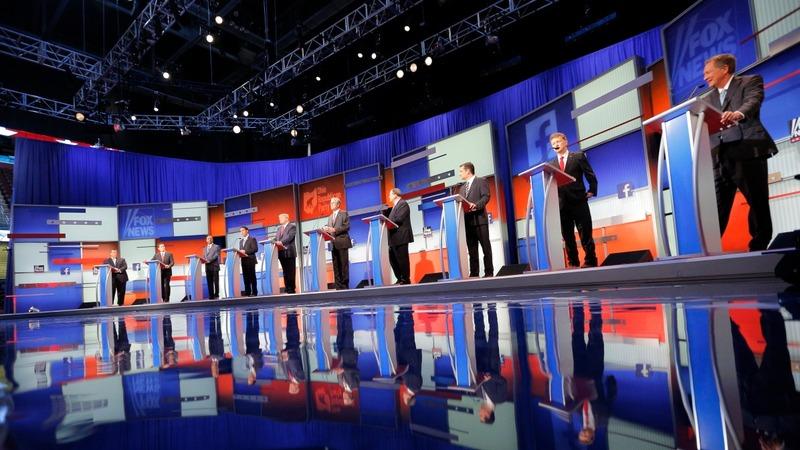 Republicans clash in first 2016 debate