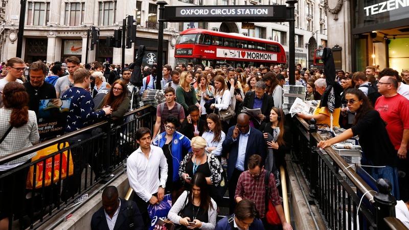 Tech-sector triumphs in London tube strikes