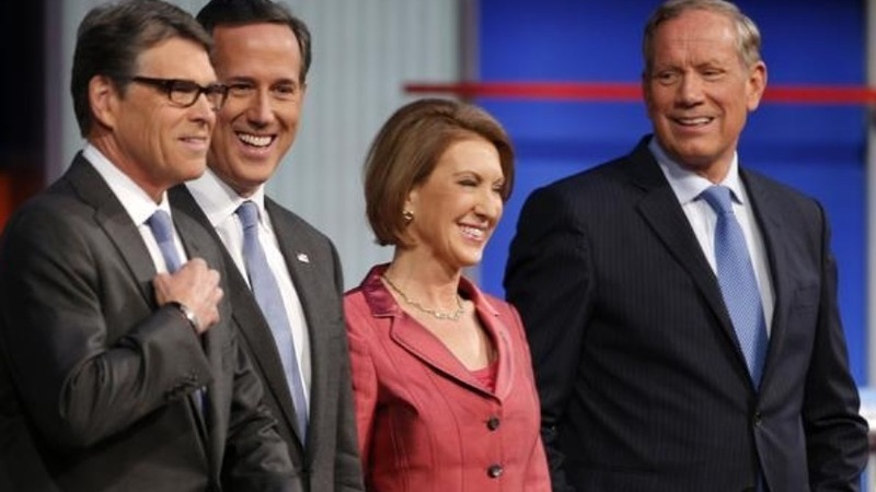 Fiorina wins the Web, donors take notice
