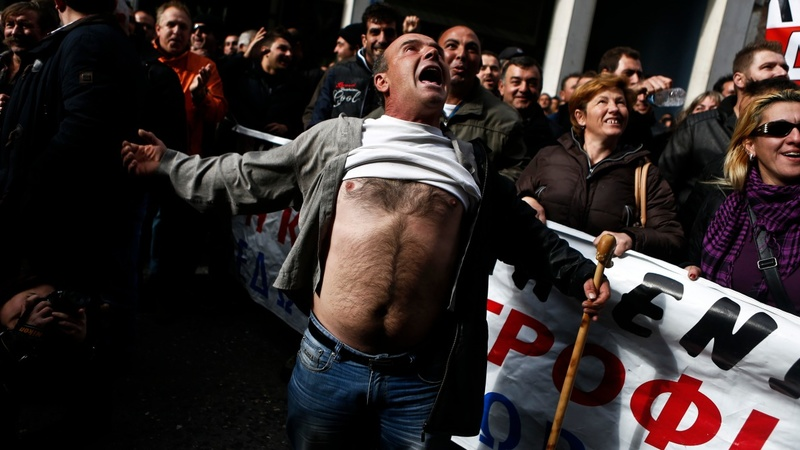 Greece's 'everyman' farmers threatened