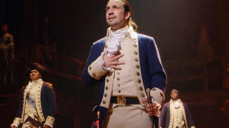 'Hamilton' hits Broadway with a bang